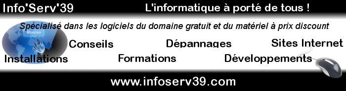 Info'Serv'39 - L'informatique à porté de tous !